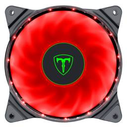 Cooler Para Gabinete T-dagger 120mm Led Red T-tgf300-r