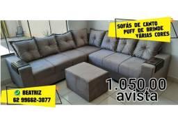 sofá de 6 lugares novo