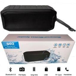 Caixa de som resistente a água