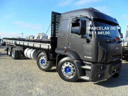Ford Cargo 2428 bitruck carroceria e contrato de serviço