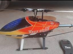 helicóptero trex 600F 3D