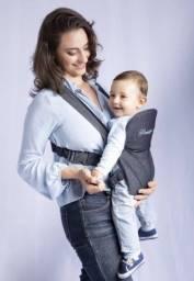 Canguru click jeans - bebê passeio  até 15kg