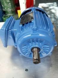 Motor elétrico trifásico 1.5 cv rpm 1740.