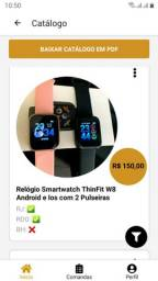 Relógio Smartwatch ThinFit W8 Android