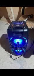 Caixa Philco pht 500 150 watts tem caixa nota fiscal