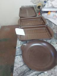 Conjunto vasilhame de cerâmica