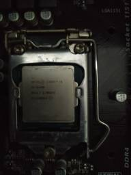 Processador Core i5 6400+Placa mãe+8Gb Memória Ddr4