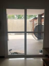 Portas de PVC com vidro