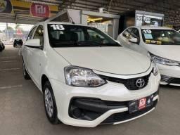 Título do anúncio: Toyota Etios HB 1.3 Automático (2018) 4.100km - Zero Km
