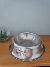 Comedouro Aço Inox Pet Porte Pequeno