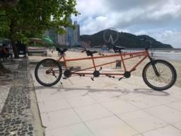Bicicleta tandem dupla e tripla