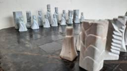 Título do anúncio: Mesa de xadrez em pedra
