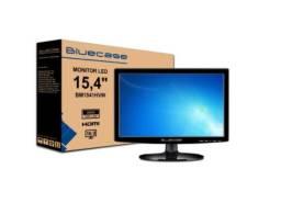 Monitor Led 15,4'' Bluecase / Hdmi / Vga / BM1541HVW - Novo