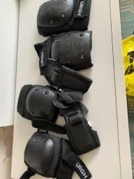 Kit proteção skate