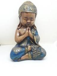 Buda Mediano Antigo de 18 centímetros Largura de cumprimento