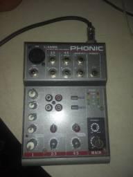 mesa de som phonic