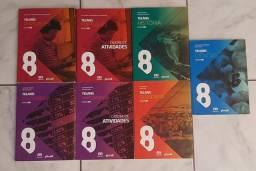 Projeto Teláris - Todos os livros 8°ano