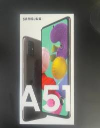Samsung Galaxy A51  Preto/128GB - Novo na caixa Lacrado