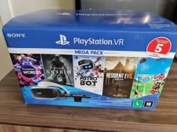 Playstation Vr - Óculos Zvr2 + Ps Camera + 6 Jogos