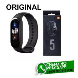 Miband 5 Original Xiaomi Prova Dágua - Fazemos Entregas