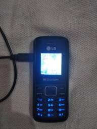 Vendo celular LG modelo antigo por 50  funcionando