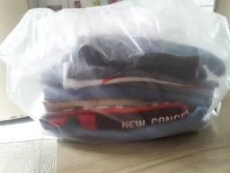 Mini lote de roupas a 5 reais