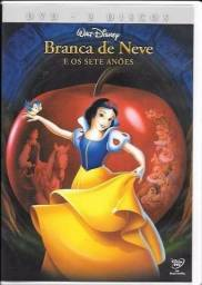 DVD: Branca de Neve e os 7 Anãos (Disney)