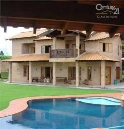 LINDA Mansão, 700 m2 construção, 2,9 mil m2 terreno - Condomínio Recanto do Salto, Londrin