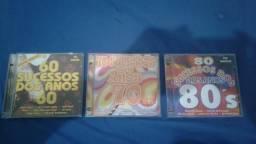 Vendo coletânea de cds R$ 18,00