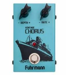 Pedal Fuhrmann Vintage Chorus - Vc-1 - (ñ boss-ñ flanger) -Novo! Na Caixa!