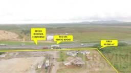 Área de 60 mil metros na Rodovia do Contorno BR 101