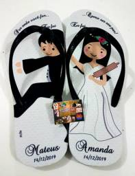 Chinelo Para Casamento Personalizado