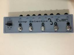 Pedal Line Selector True bypass c/ Booster independente