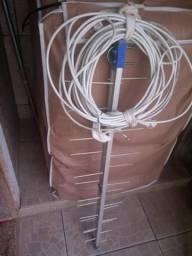 Antena mais fiação