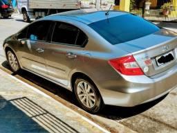 Honda Civic Lxs Baixa Km (39.500 km) *IMPECÁVEL - 2014