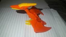 Coleção de dinossauros de brinquedo