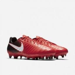 Chuteira Original Nike Tiempo Legacy III Campo Profissional bac48596afd2a
