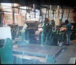 58566c658 Máquina sos 030 profama 04 cores tambor central para fabricar sacolas e  tubos de papel
