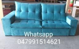 Sofás de alto padrão reclinável e retrátil