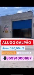 Alugo Galpão com 180 m2