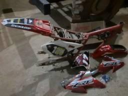 Moto trilha Honda chassis qt crf