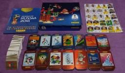 Album de figurinhas da Copa do Mundo Russia 2018