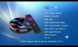 O melhor tv box momento H96 max x3