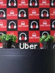 Plaquinha de Uber