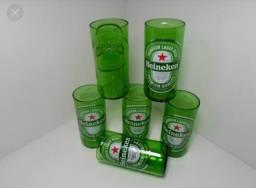 Vendo Jogo de 6 copos da Heineken 250ml !!!