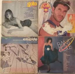 Lote 4 discos trilha sonora Globo