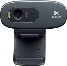 Promoção* Logitech C270 -720p(hd) - Câmera Web Webcam - Novo - Lacrado