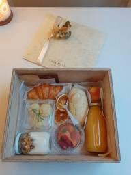 Box café da manhã