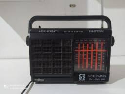 Rádio portátil  7