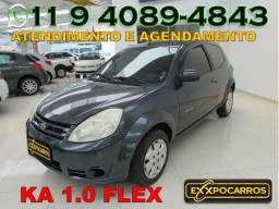 Ford Ka Tecno 1.0 Flex - Completo - Ano 2010 - Financio Sem Burocracia
